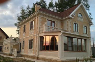 Строительство дома из ракушки